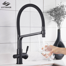 Faucet Taps WATER-FILTER Kitchen 360-Degree Rotation Feature