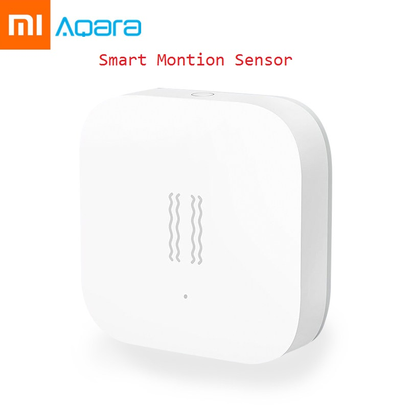 Aqara Smart Motion Sensor Vibration Detection Alarm Monitor Zigbee Shock Sensor For MiHome Aqara Mi Home App