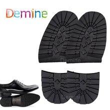 Demine толстая резиновая стелька нескользящая деловая обувь