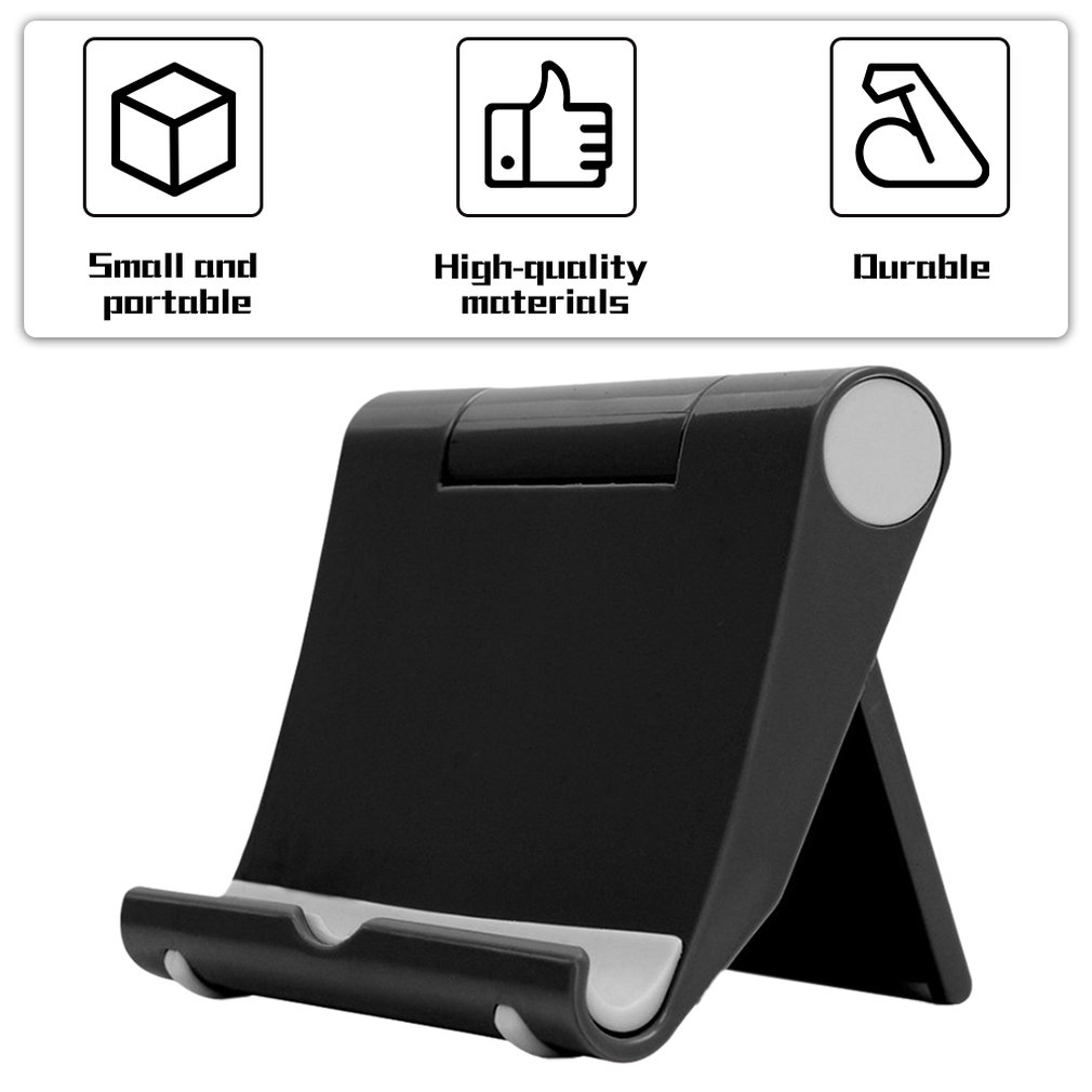Base Phone-Holder Tablet Mobile-Phone-Bracket Rotating Desktop Folding Lazy Universal title=