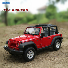 цена welly 1:24 Wrangler off-road car model  car alloy car model simulation car decoration collection gift toy Die casting model boy