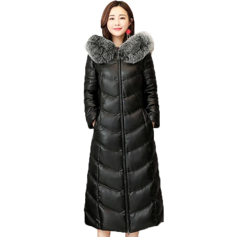 casacos Feminina Casaco longos