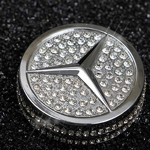 Image 2 - Bling Crystal Shiny Diamond interior Multimedia Media Control Cover Accessory for Mercedes Benz-in Automotive Interior Stickers from Automobiles & Motorcycles
