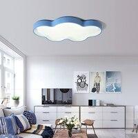 NEO Gleam Modern Led Ceiling Lights For Bedroom Study Room Children Room Kids Rom Home Deco White/Pink/Blue/Yellow Ceiling Lamp