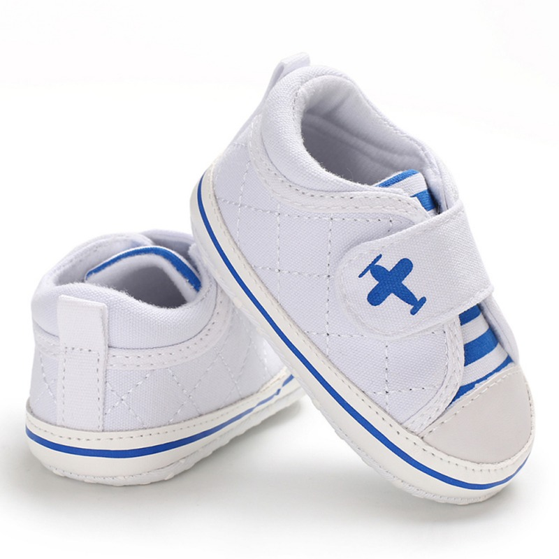 Cotton Classic Casual Fashion Baby Boys Shoes Infant Toddler Newborn Baby First Walkers Sports Sneakers Shoes Prewalkers 0-18M