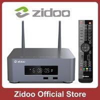 ZIDOO-reproductor multimedia Z10Pro 4K, decodificador con Android 9,0, DDR4, 2 GB, 32 GB, eMMC, Z10Pro, Dobly Vision, HDR10 +, Bahía HDD de hasta 14TB