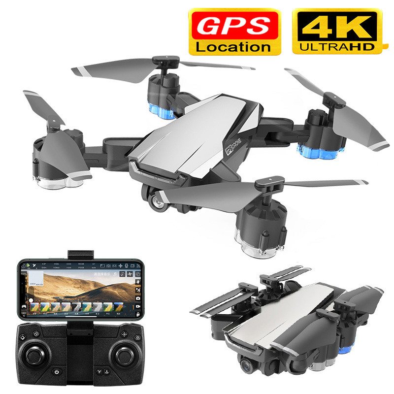 Profession GPS RC Drone with 4K HD Camera 5G WIFI FPV Altitude Hold One Key Return RC Quadcopter Helicopter VS E520S SG907