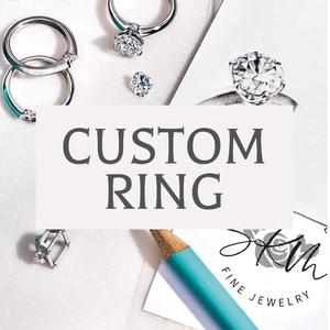 SKM Customized Rings Gemstone
