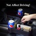 Из искусственной кожи Органайзер на спинку сиденья в автомобиле, держатель для напитков, Многофункциональный Черный Автокресло Gap коробка ...