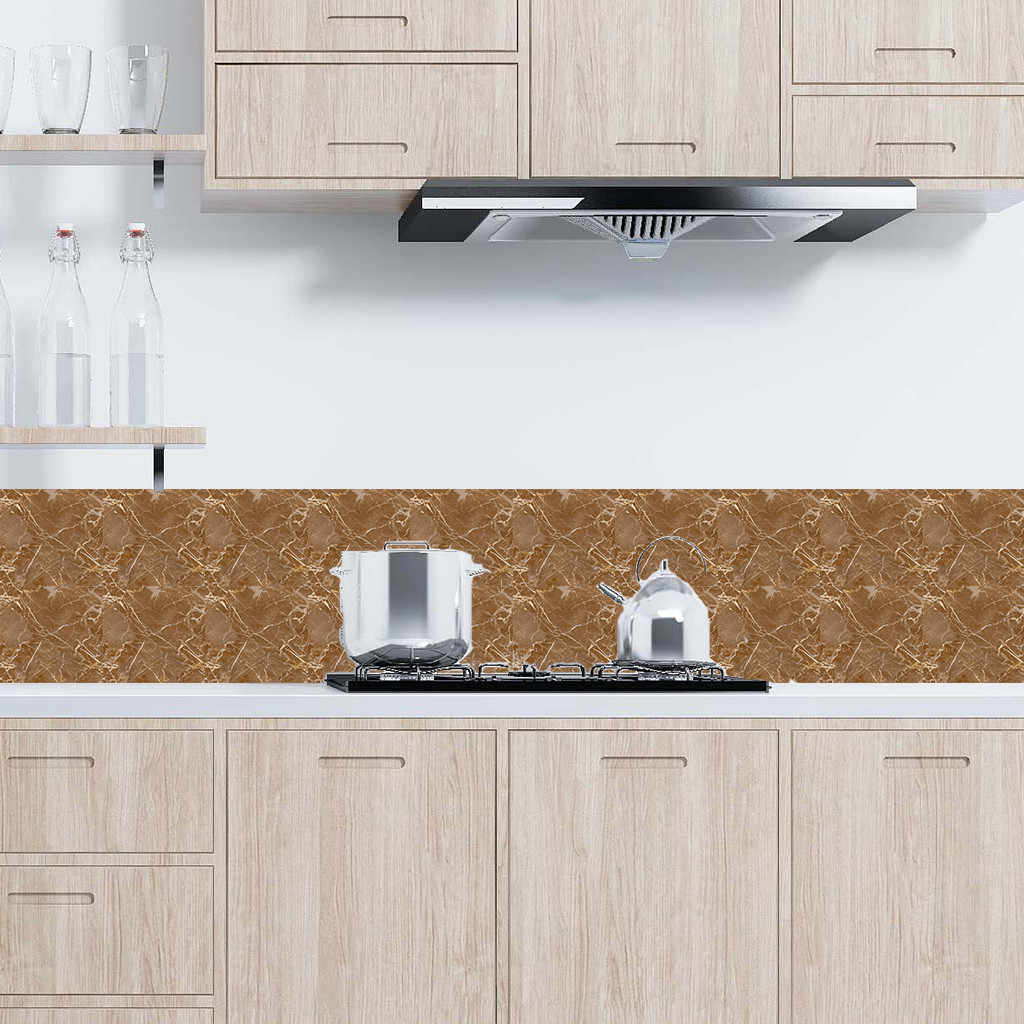 6 Teile/satz Fliesen Mosaiken Fliesen Aufkleber Küche Öl-proof Bad Wasserdicht Persönlichkeit Anti-Fliesen Aufkleber