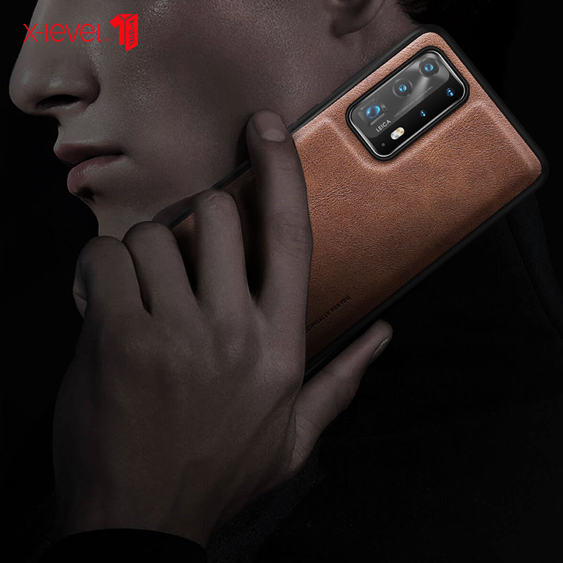 For Huawei P40 PRO P30 Pro Case Classic Leather Soft edge TPU Full package For Huawei P40 P30 Back Cover Anti fall Free shipping