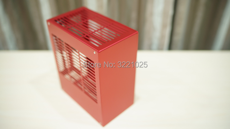 all aluminum HTPC ITX small chassis game computer case support Graphics card RTX2070 i7 8700 PK39 K39