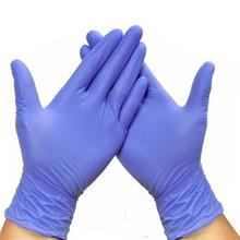 20pcs/50pcs Nitrile Gloves Disposable Gloves Latex Household Kitchen/Dishwashing/Work/Rubber/Garden Universal Gloves Drop Ship