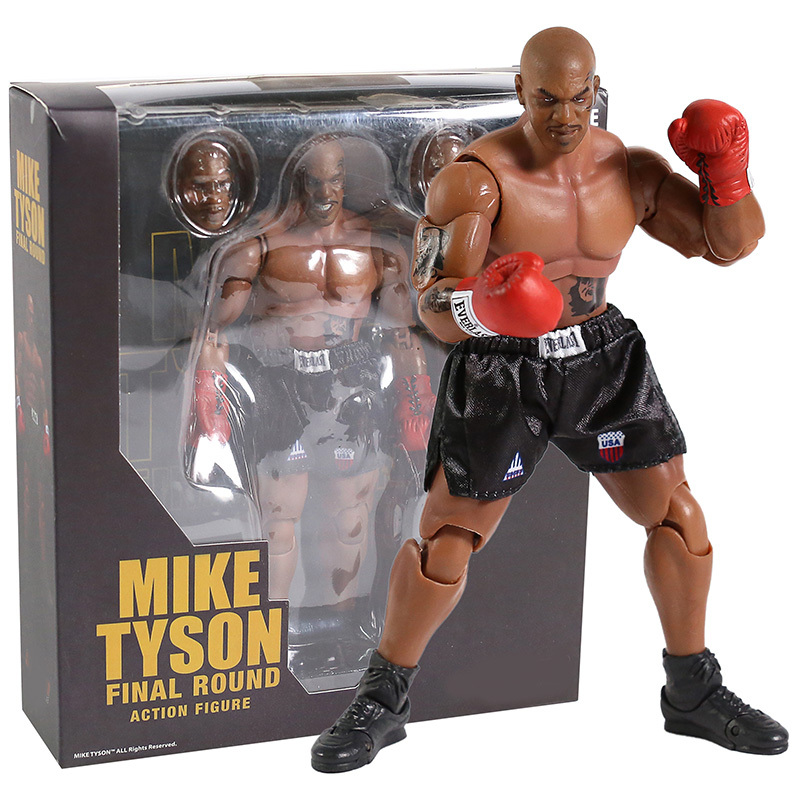 """Mike Tyson Final Round 7/"""" Action Figure Figurine Toy Collection New in Box"""