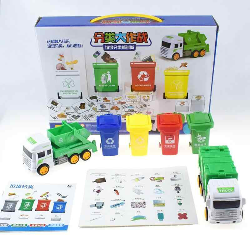 Garbage Classification Game Toys Parent-Child Interaction Rich Game Content Montessori Practice Teaching for Early Education