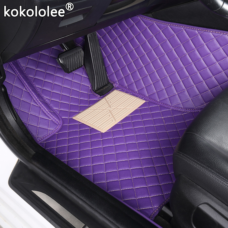 Kokololee Custom Car Floor Mat For Subaru XV BRZ Forester Outback Impreza Legacy Car Left Steering Wheel Auto Interior