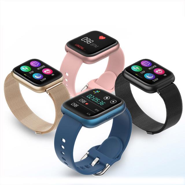SENBONO Full Touch P6 Smart Watch Wristband Men Women Sport Clock Heart Rate Monitor Sleep Monitor Smartwatch tracker for phone