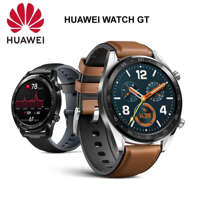 Version mondiale montre HUAWEI GT édition Active montre Sport intelligente 1.39