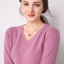 Offre spéciale doux femmes pull 100% laine tricoté pulls dames 2019 hiver nouveau mode pulls 5 couleur vêtements