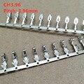 100 шт./лот CH3.96 Клеммная вилка соединители расстояние 3,96 мм провод кабель Корпус Женский контакт