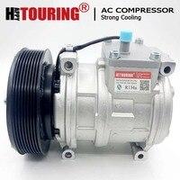 10PA17C compressor for John Deere 8GR 145mm 12v AH169875 447200-4930 RE46609 447170-9490 TY6764 447100-2381 447100-2387 RE54254