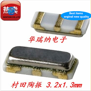 20pcs 100% New And Orginal CSTCE10M00G52-RO 10M 10MHZ 10.000MHZ Passive SMD Crystal 3213 3 Feet
