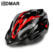 купить DMAR Bicycle Helmet Cycling Ultralight EPS+PC Cover MTB Road Bike Helmet Cycling Integrally Molded Helmet Cycling Safely Cap онлайн