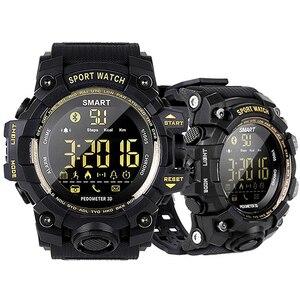Водонепроницаемые спортивные Смарт-часы EX16S камуфляжные уличные часы с дистанционным управлением по Bluetooth и дистанционным управлением, умн...