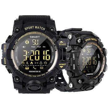 Waterproof Sports Smart Watch EX16S Camouflage Outdoor Bluetooth Remote Pedemeter Control Photo Long Standby Smartwatch
