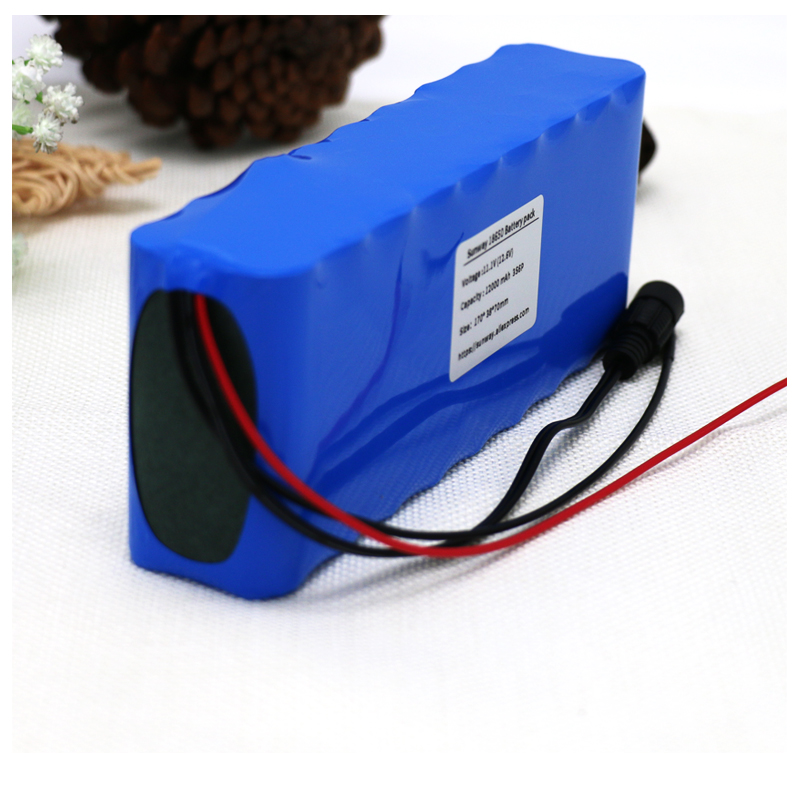 AERDU <font><b>12V</b></font> <font><b>15Ah</b></font> 250watt 3S6P 11.1V 12.6V 18650 <font><b>Lithium</b></font>-ion <font><b>Battery</b></font> Pack Hunting xenon Fishing Lamp LED Outdoor Light Power backup image
