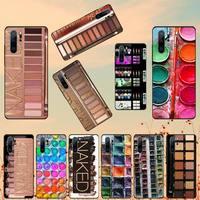 Juego de acuarelas pintura paleta maquillaje funda del teléfono para Huawei Honor ver 7a5.45inch 7c5.7inch 8x 8a 8c 9 9x10 20 10i 20i lite pro