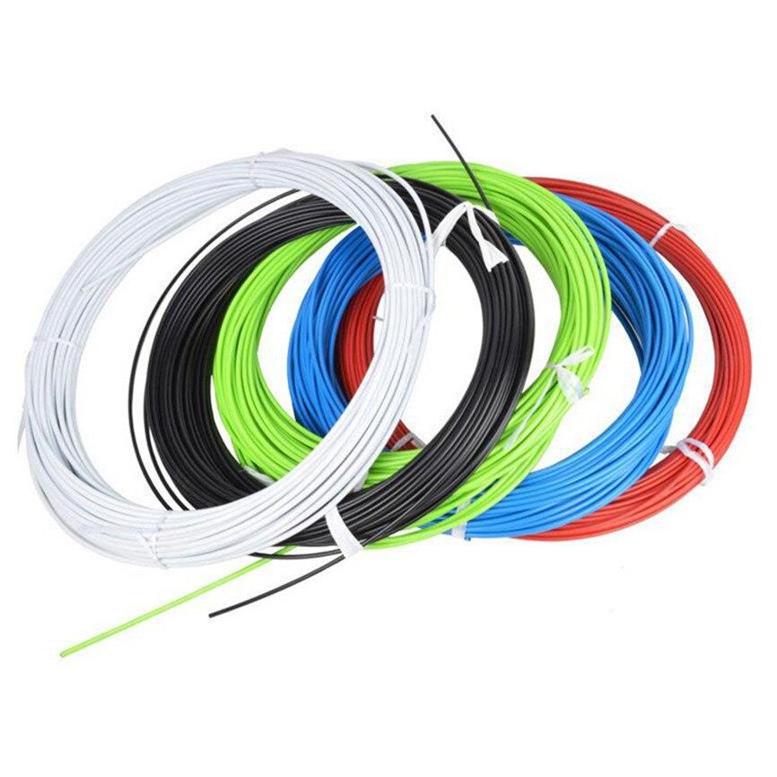 Vtt montagne route vélo vélo frein câble engrenage maison Tube boîtier Transmission décalage ligne câbles fil avec 2 bouchons