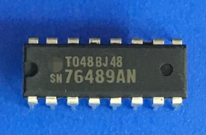 2PCS SN76489AN DIP-16 Digital Complex Sound Generator IC NEW
