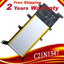 Batería de portátil de 7,5 V y 37WH para ASUS X554L, X555L, X555LB, X555LN, X555, X555LD, X555LP, F555A, F555U, W519L, F555UA, VM, C21N1347