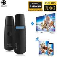 GGMM di Aggiornamento 5G + 2.4G Wireless Display Dongle Mini Record In Streaming Trasmettitore HDMI Scheda Video Wifi Miracast Dongle con Fu
