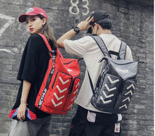 2019 New Hip Hop Style Teenagers Street Backpack Large Capacity School Couple Bag Short Journey Luggage Cloth Bags Mochila D922