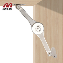 MX Hydraulic arbitrary stop hinge kitchen cabinet door adjustable matte hinge furniture lifting inverted support hardware цена 2017