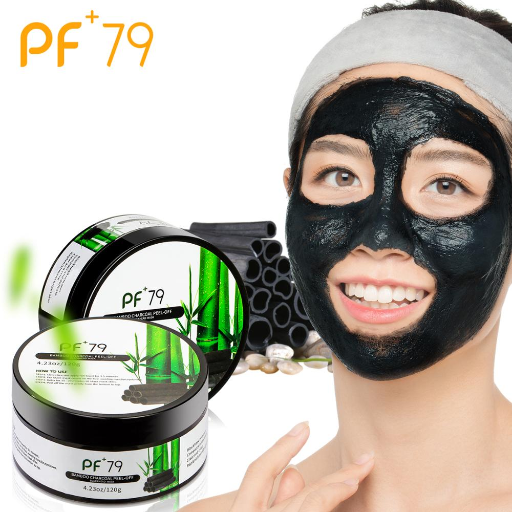 Black Mask Bamboo Charcoal Purifying Blackhead Remover Peeling Acne Nose Face Care Mud Deep Cleansing Mask Skin Care Blemishes