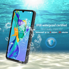 IP68 wodoodporna obudowa dla Huawei P40 Mate 30 P30 P20 Pro wyczyść podwodne nurkowanie ochrony pokrywa dla Huawei P30 P20 Lite przypadku telefonu