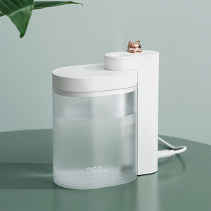 Image 4 - Xiaomi Mijia Tabletop Humidifier Ultrasound Mute USB Charge 260ML Transparent Tank Air Purifier Water Nebulizer For Home Office