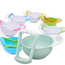 2 шт./компл. руководство детское питание фруктовое устройство добавки пищевые чаши для кормления ребенка шлифовальные инструменты процессор для ребенка