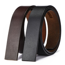 Hot Sales Brand No Buckle 3.5cm Wide Genuine Leather Automat