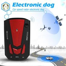 VODOOL V7 pantalla LED Detector de Radar de coche inglés vehículo ruso Auto velocidad alerta de voz alarma sistema de advertencia H/X /K/Ka/Ct/La banda