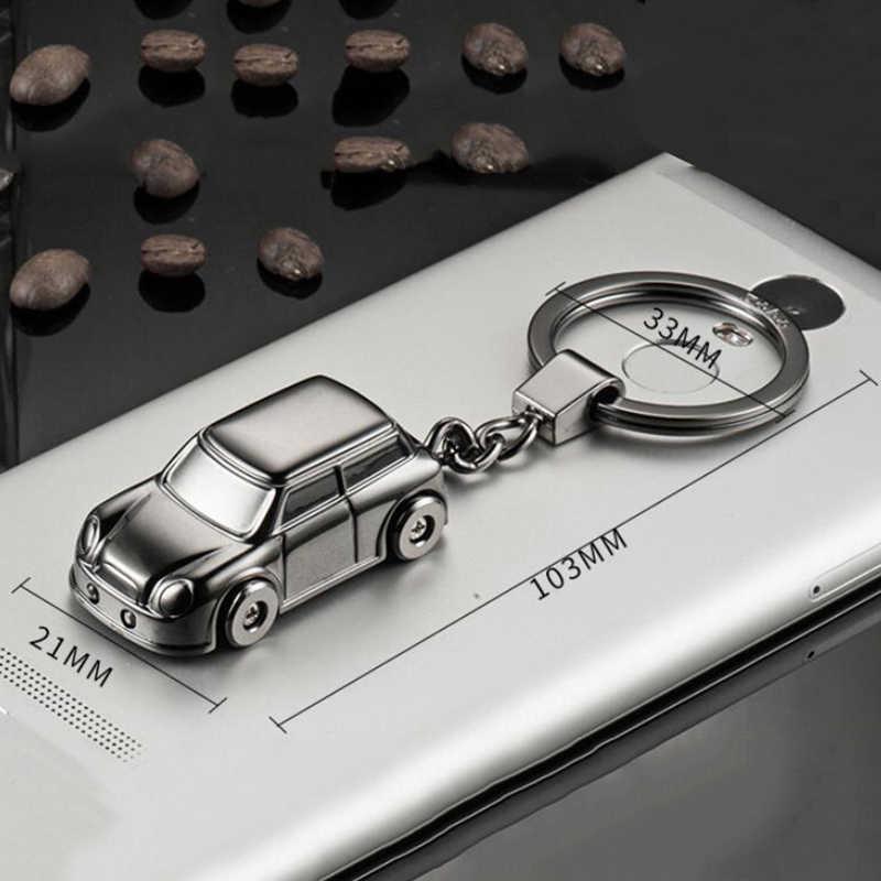 クリエイティブ全自動モデリング車のキーリングミニクーパー R55 フォード F150 キャデラック Srx 起亜オプティマ K5 Bmw キーホルダーペンダントアクセサリー