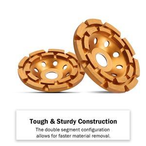 Image 4 - Kseibi 다이아몬드 그라인딩 휠 앵글 그라인더 휠 커팅 컵 휠 톱 블레이드 105/115/125/180mm 시멘트 콘크리트 타일 그라인더