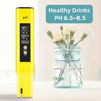 Calibração automática da urina do analisador da piscina do medidor de ph do ácido da água do aquário do lcd da elevada precisão 0.01 digital 40% fora