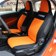 Custom seat thin mesh cushion For Mercedes Smart 451 453 Fortwo Forfour Car styling Interior Seat Cover breathable antifouling