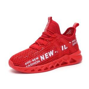 Image 3 - Kid Running Sneakers Summer Children Sport Shoes Tenis Infantil Boy Basket Footwear Lightweight Breathable Girl Chaussure Enfant