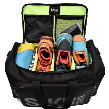 2019 Men Women Gym Bag For Sneaker Shoes Compartment Packing  Organizer Waterproof Nylon Sport Travle Duffel Bags Wholesale 3
