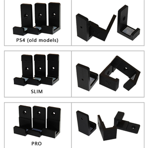 Image 2 - Wall Mount Bracket for PlayStation 4 PS4 Slim Pro Game Console Wall Stand Storage Anti skid shockproof Protection Console Holder